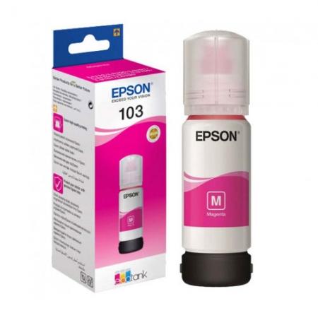 Чернила Epson 103 EcoTank Magenta 65ml C13T00S34A Original