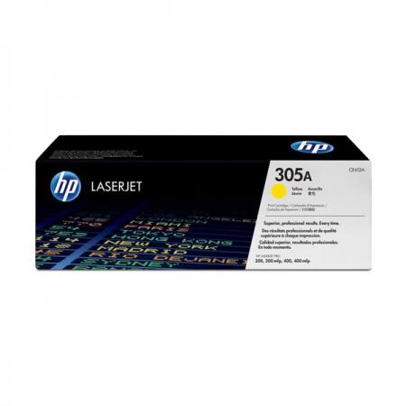 Картридж HP CE412A (305A) Yellow оригинал