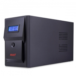 CW 2110 MUST line-interactive UPS 1500VA LCD USB RJ45 battery: 12V9AH*2 SCHUKO output