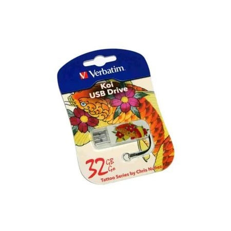 Флешка 32GB USB 2.0 Verbatim 049897 (рыба)