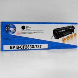 Картридж HP CF283X/Canon737 Euro Print