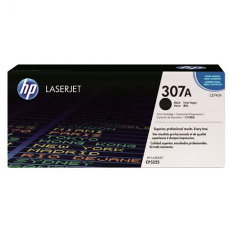 Картридж HP CE740A (307A) Black оригинал