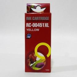Картридж Canon CLI-451XLY Yellow JET TEK