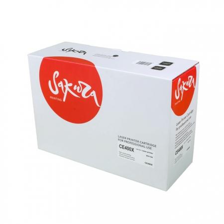 Картридж HP CE400X (507X) Black Sakura