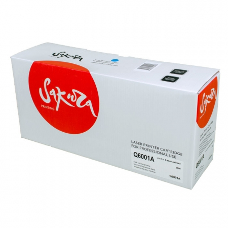 Картридж HP Q6001A (№124A)/Canon 707 Cyan Sakura