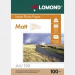 Фотобумага A4/100грамм/100листов/матовая 2-сторон.(0102002) LOMOND