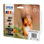 Картридж Epson C13T379D4020 478XL Mpack (Bk.C.M.Y.R.GY)