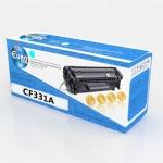 Картридж HP CF331A (№654A) Cyan Euro Print