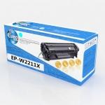 Картридж HP W2211X (№207X) Cyan (2.45K) (без чипа) Euro Print