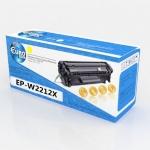 Картридж HP W2212X (№207X) Yellow (2.45K) (без чипа) Euro Print