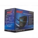 EW 2110 MUST line-interactive UPS 500VA LCD USB RJ45 battery: 12V7AH