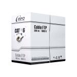 Кабель сетевой FCH-6574 FTP Cat.6 4x2x1/0,57 LSZH 305 м/б RIPO