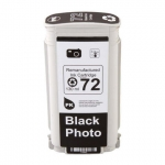Картридж HP C9370A Photo Black №72 JET TEK