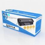 Картридж HP Q2671A (309A) Cyan Euro Print