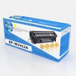 Картридж HP W2412A (№216A) (без чипа) Yellow (0,85K) Euro Print