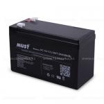 Аккумулятор MUST 12V 7,5Ah Size 151*65*94mm