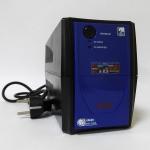 EA 1000 MUST ECO off-line UPS 500VA battery: 12V4AH Faceplate BLUE
