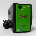 EA 1000 MUST ECO off-line UPS 500VA battery: 12V4AH Faceplate GREEN