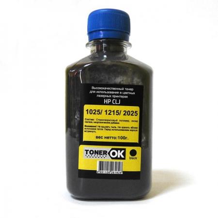 Тонер HP CLJ Universal Black (100гр) TonerOK